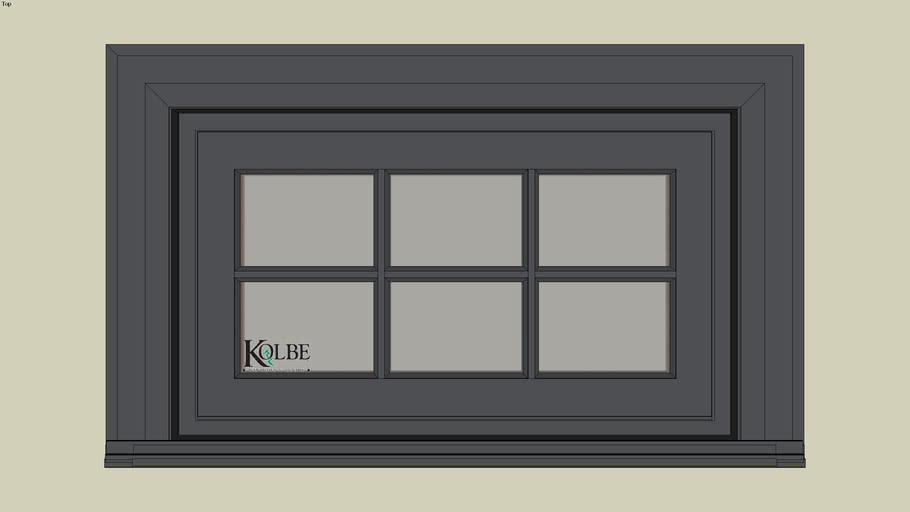 """Kolbe Ultra Garden-Aire Rectangular Transoms GAUT2918 (F.S. 2'-8 1/2"""" x 1'-7 1/2"""" R.O. 2'-9"""" x1'-8"""")"""