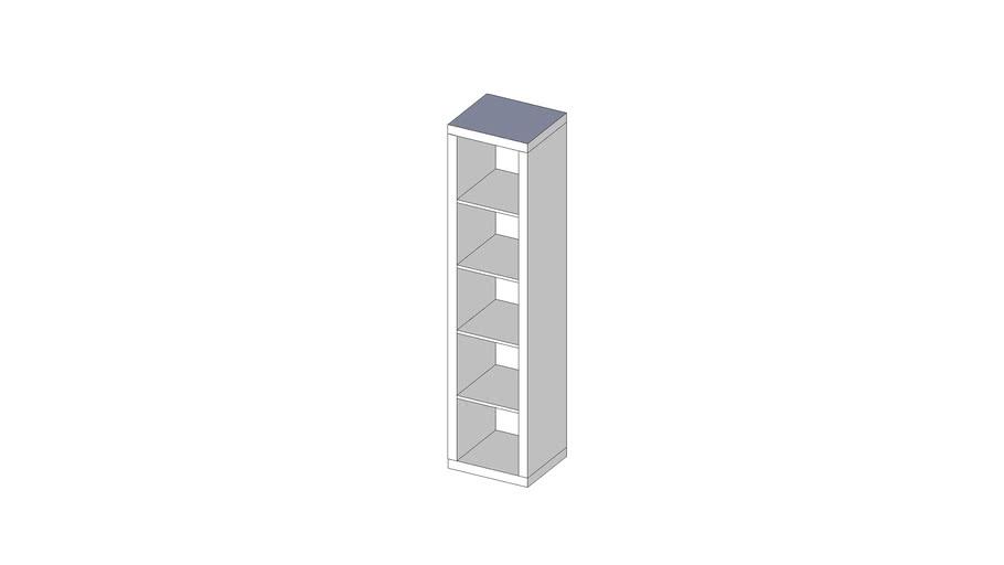Expedit single long shelf unit