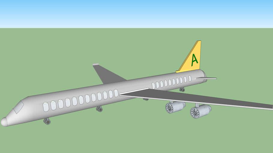 Flugzeug, Airplane