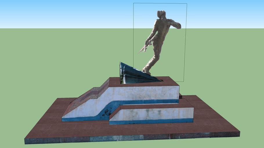 Памятник воину-афганцу