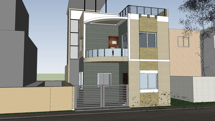 Indian 2 BHK HOUSE