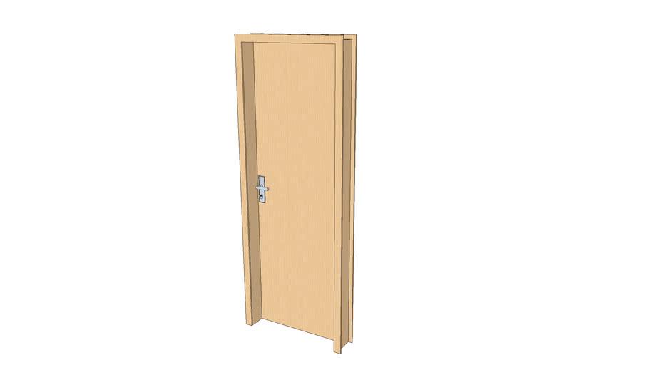 porta de madeira 70cmx200cm