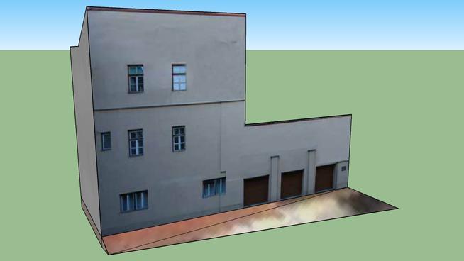 Stavba za Magistratom 1 (Building behind Magistrat) - Celje