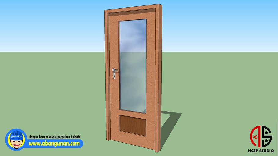 Model Dasar Pintu 02-NC