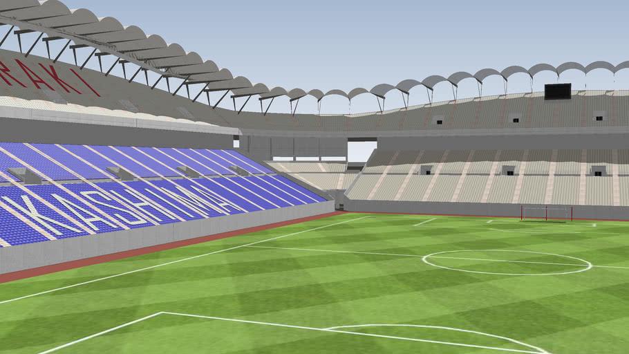 Kashima Soccer Stadium, Japan