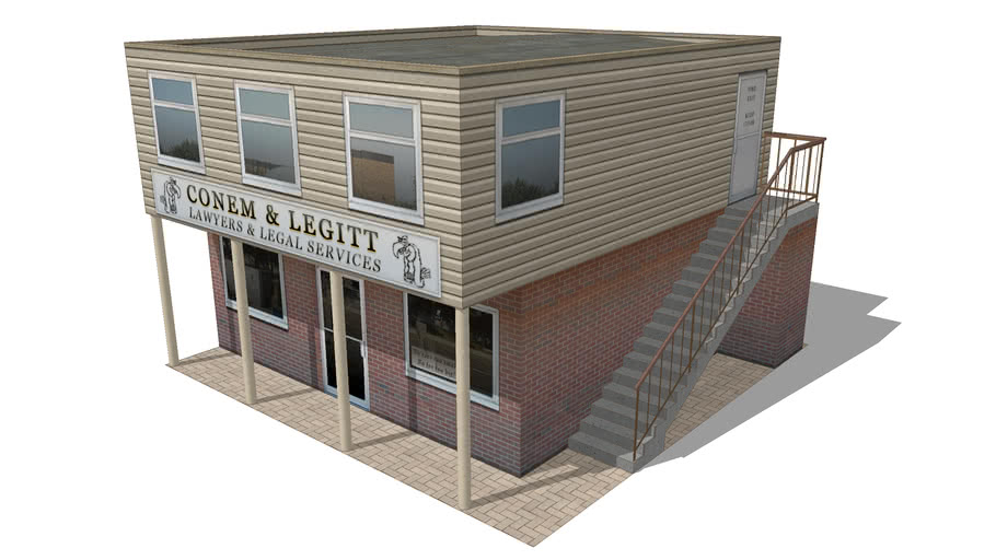 Small Office Building 3d Warehouse