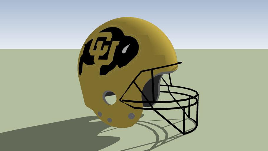 Colorado Buffaloes football helmet