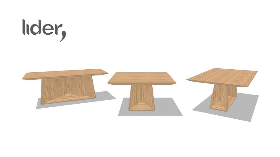 Mesa de jantar Plissê
