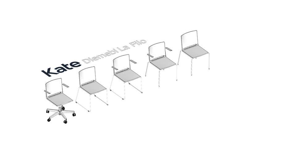 KATE Diemebi LaFilo krēsli
