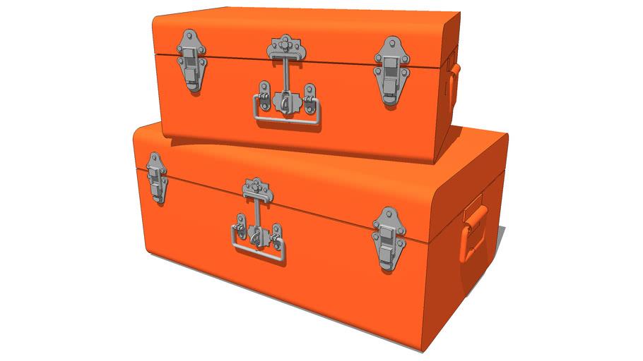 ensemble 2MALLES orange, maisons du monde, ref 122171 prix 79€