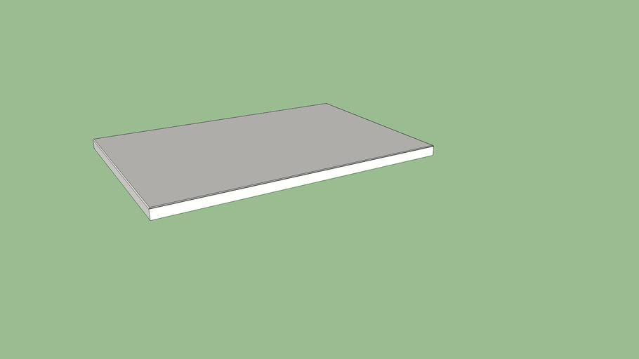 IKEA SPILDRA Cover plate 60x40