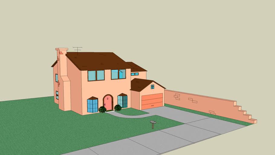 The Simpsons ´s House - La Casa de los Simpsons