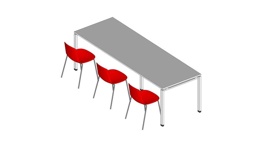 Table filante paramétrable