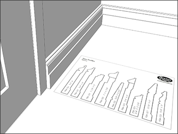 SketchUp for Interiors Level 3: Base & Crown Molding with