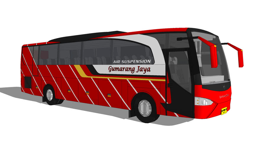 INDONESIAN Bus - PO. Gumarang Jaya ( West Sumatra )