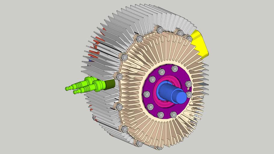 Silnik Wankla 395 cm3