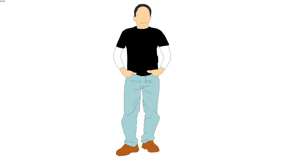 2D man