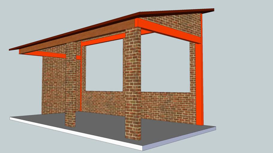 Garasi Mobil Sederhana 3d Warehouse