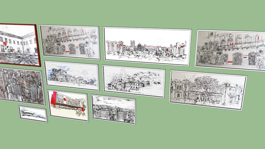 composição de quadros paulo von poser