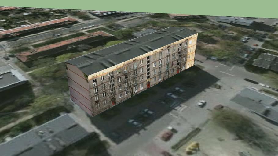 budynek przy Skalbmierska 14