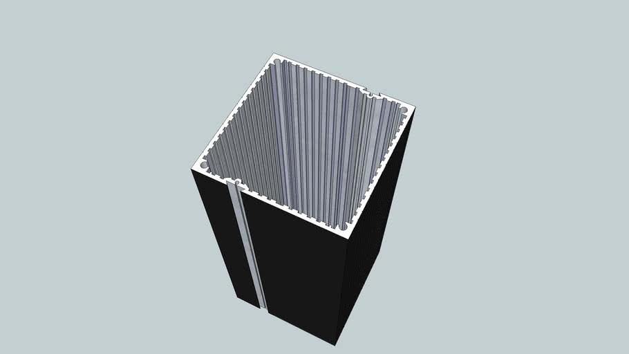 Panel Instrument Case 96x96x200