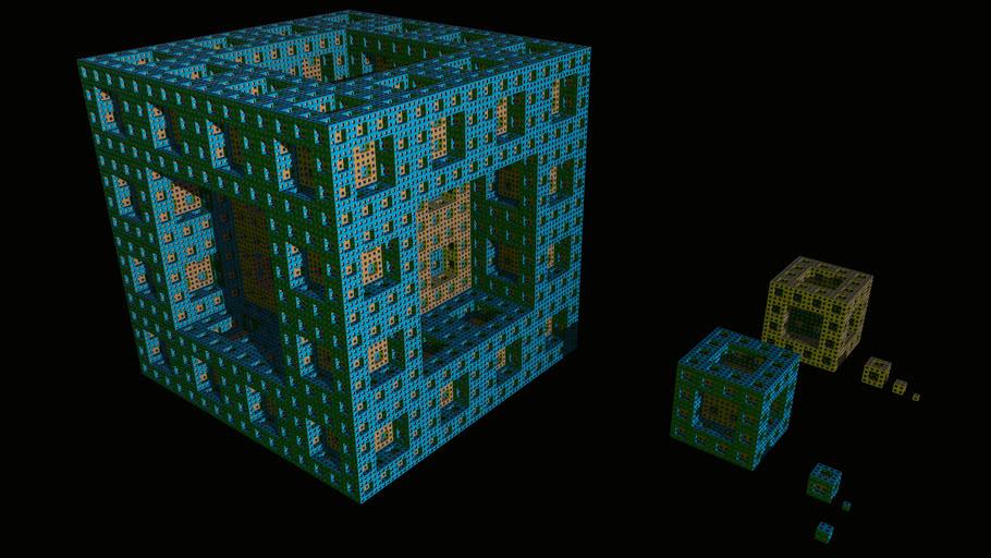 Classic Sierpinski Sponge