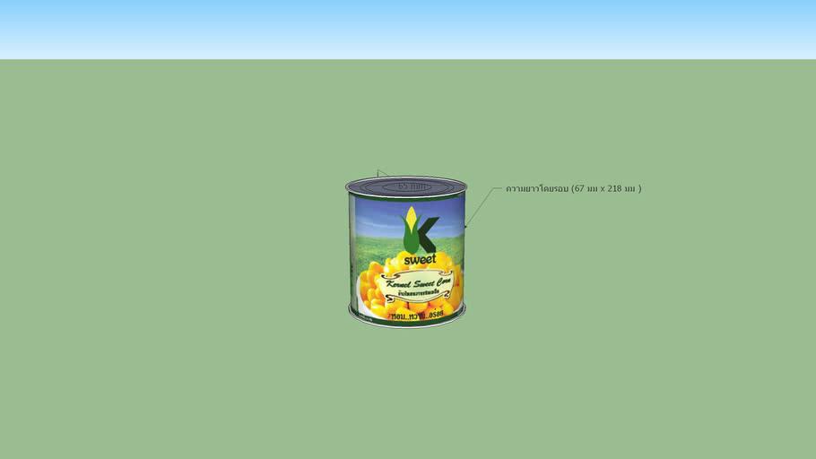 Taweepon-Arti3314-tin can 8 oz.-K-Sweet Kernel corn