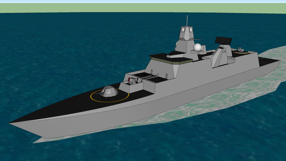 Project-22530 Stealth destroyer