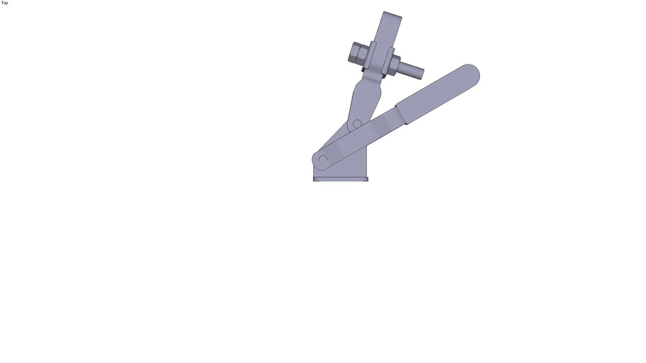 Vertical toggle clamp - M8x50