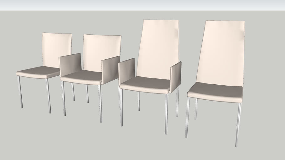 Cattelan Anna Chairs Collection