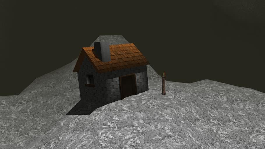 Clonk rage stone house