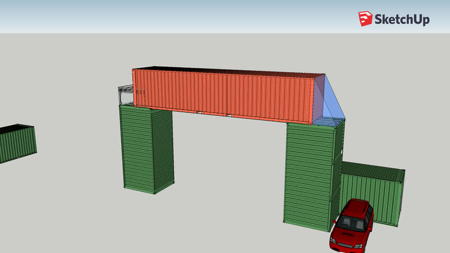 """""""The Archway"""" Shipping Container Home"""