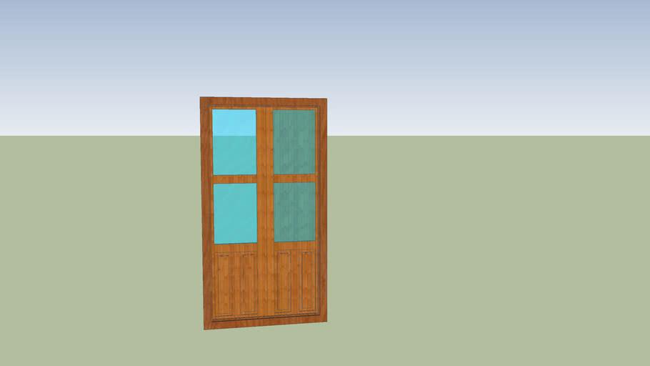 Balcon carpinteria madera
