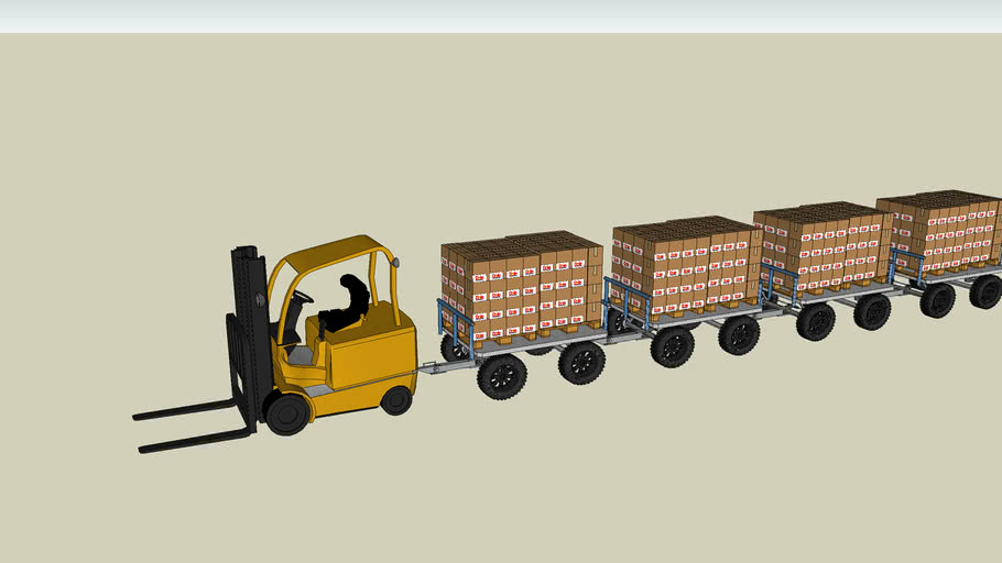 DOLE PHIL. TOWING DOLLY