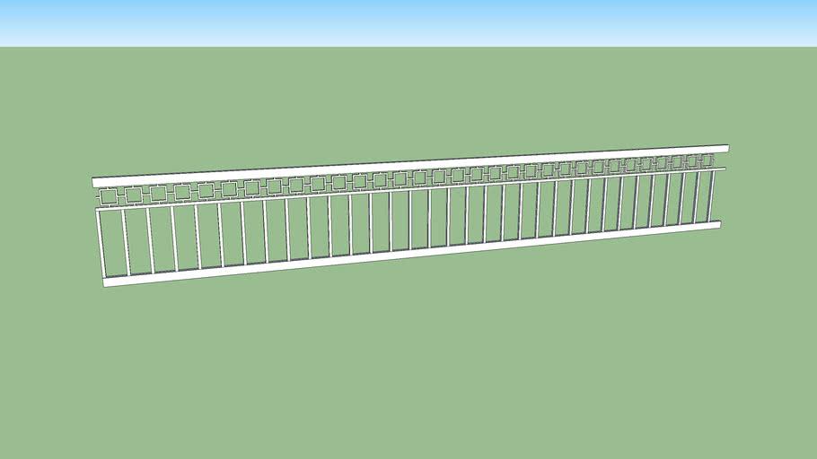 lan can sắt hộp 2 - steel handrails