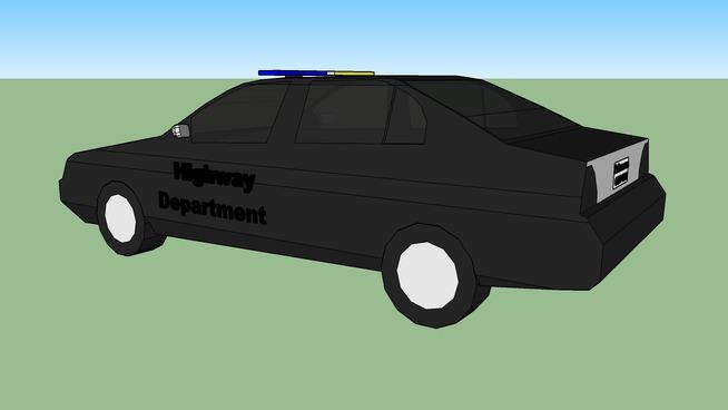 Arkansas Highway Department car