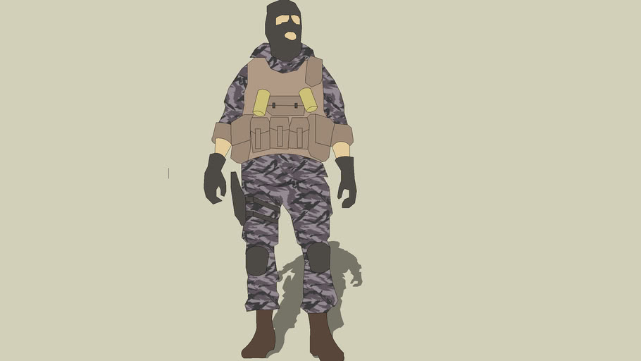 2d russian soldier