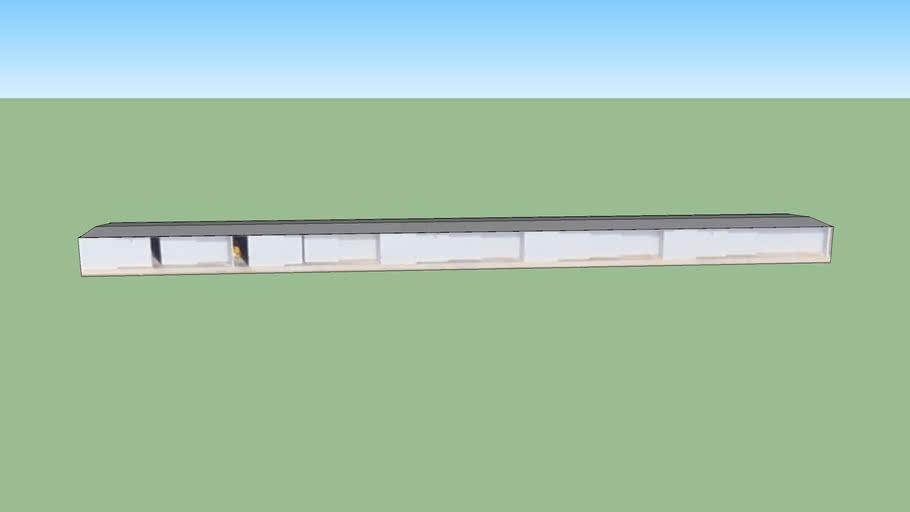 Aircraft hanger in Mesa, AZ, USA