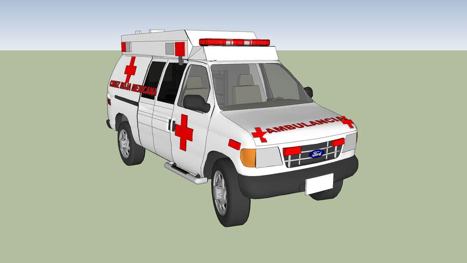 cruz roja mexicana ambulancia delegacion de mexicali baja califonia norte