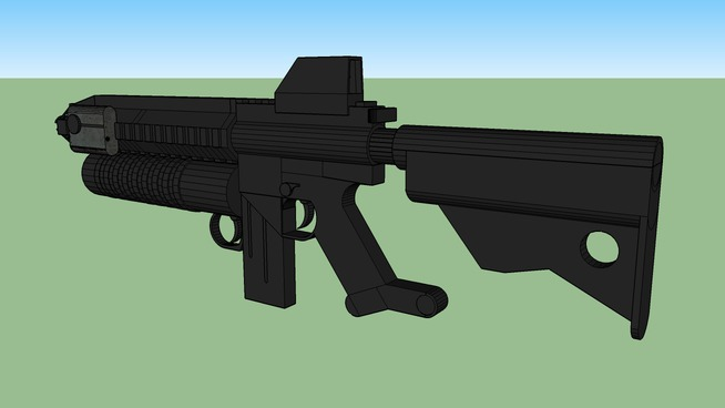 Philippine MMA1(Mandirigma Model A1) Assault rifle concept
