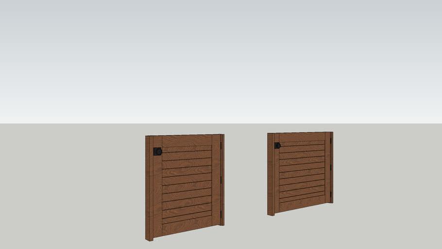 small dutch door