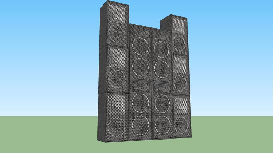 PA Speaker Tower