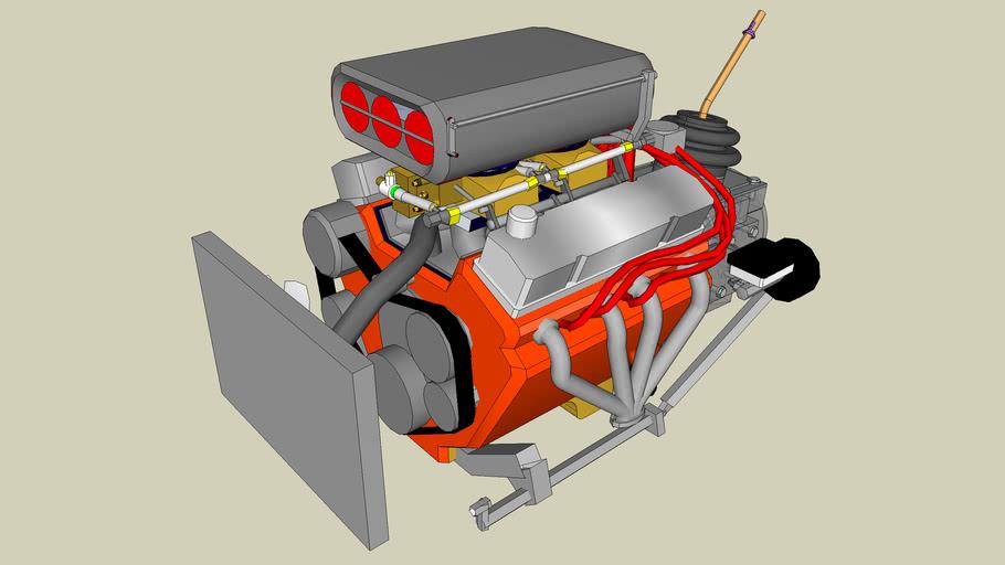 chevy v8 engine