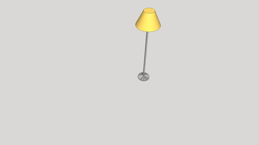 lampara de pié