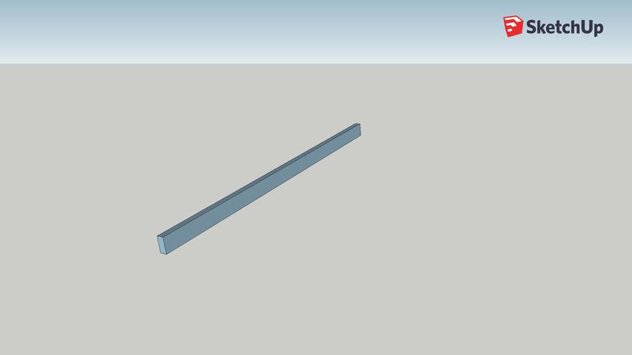 17 ft 10 degree roof beam