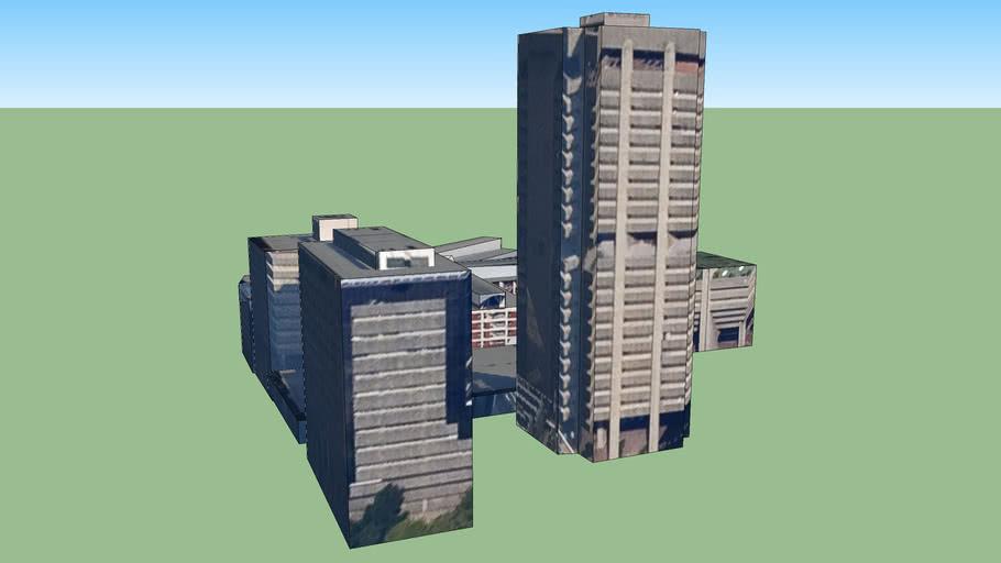 Budova na adrese Johannesburg, Jihoafrická republika