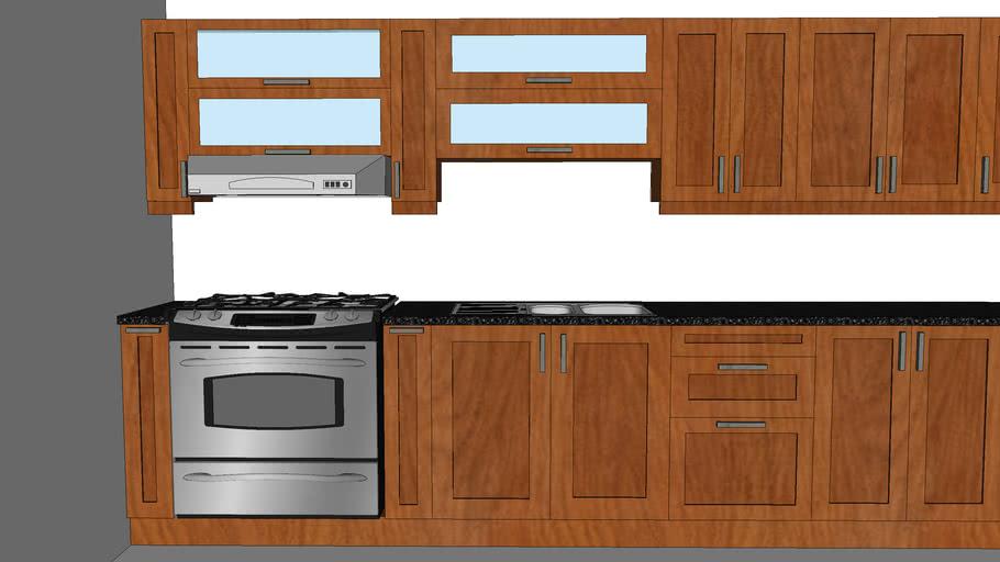 Kitchen Cabinet 3d Warehouse