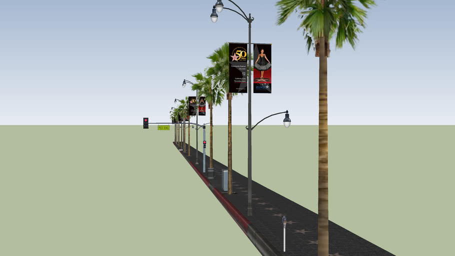 Walk of Fame 6800 Block
