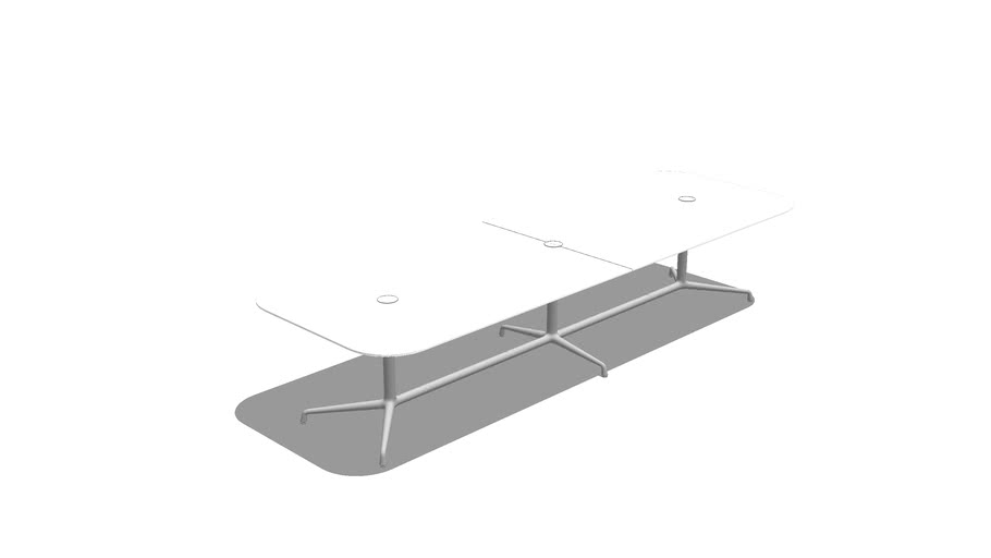 Coalesse, SW_1, Conference Table, Rectangle, 2pc, Laminate, 48x144x28.5