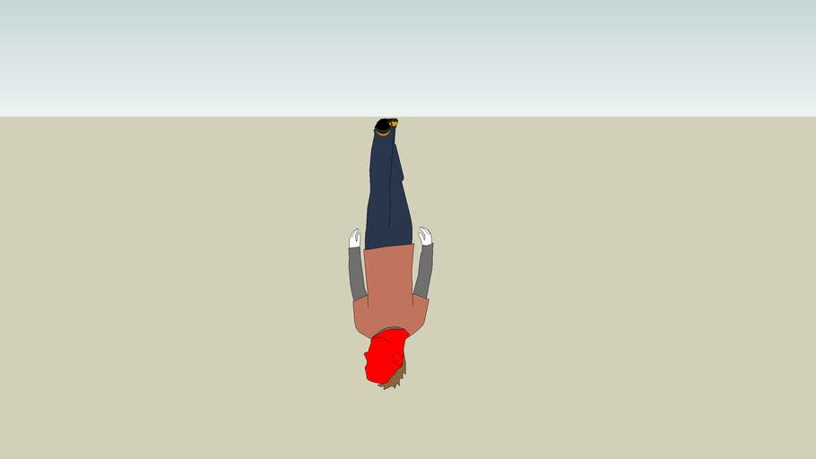 Bryce stayed upsidedown WAY too long